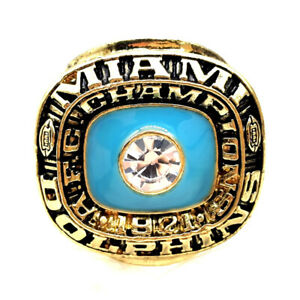 1971 Miami Dolphins AFC Championship rings NFL