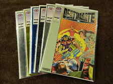 1993 VALIANT /IMAGE Comics DEATHMATE Preview, Prologue, Black, Blue, Yellow, Epi