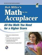 NEW ACCUPLACER®: Bob Miller's Math Prep (College Placement Test Preparation)