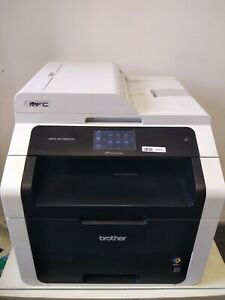 Brother MFC-9140N A4 Colour Laser Printer All-In-One Network USB Scan Fax Toner