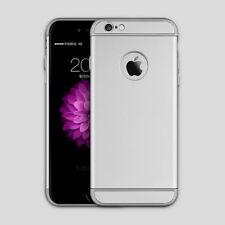 coque antichocs silver luxueuse aspect rigide contour argent Apple iPhone 6 Plus