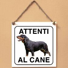 Slovensky Kopov Segugio foresta nera 2 Attenti al cane Targa piastrella cartello