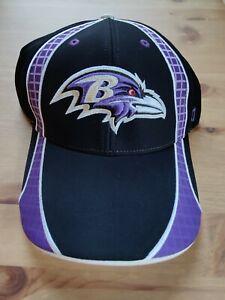 47 Brand Retro Baltimore Ravens Starter Battlehawk Style Hook and Loop Hat Cap