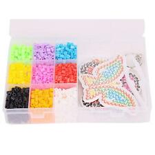 1600pcs 9 Grids Perler / Hama Beads Puzzle For Kids Great Fun Toy Crafts DIY N7