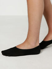 Articleno 1 No Show Socks In Black size One Size