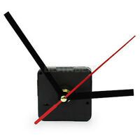 Black Simple DIY Quartz Wall Clock Movement Mechanism Repair Parts Kit + Hands