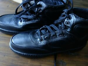 New!! ROCKY 911 SERIES SHOES, BLACK Leather, Made in USA, Size 8