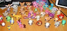 LITTLEST PET SHOP LOT OF 43 ASSORTED FIGURES INCLUDING 2 SQUISHIES MOST DATED 07