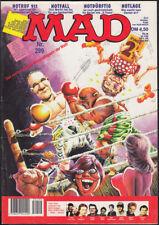 """MAD Heft Nr. 299 + TV-Parodie """"Notruf / X-Men"""" (Williams, 1. Auflage 1995) Z 1-2"""