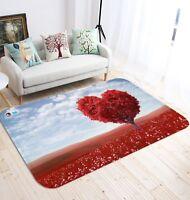 3D Acero Rosso 023 Pavimento Antiscivolo Tappeti Elegante Tappeto IT Cobb