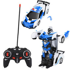 Profi 1/18 Spielzeug Transformer Auto Rennauto Roboter inkl. Fernbedienung 10m