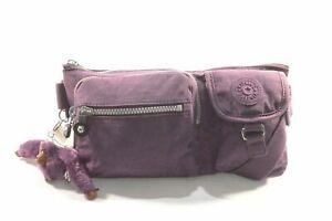 Kipling AC3397 5BQ Purple Verbena Convertible Crossbody Belt Bag