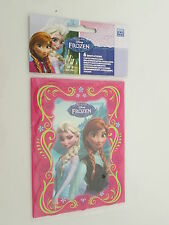Disney Frozen Kids' Birthday Party Invitations Cards X 6 With Pink Envelopes