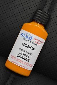HONDA REPSOL ORANGE - 202 / YR181 PAINT TOUCH UP KIT 30ML CBR *HELIOS PAINT*