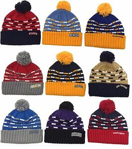 NWT NBA Adidas Womens Cuffed Pom Knit Hat Cap Beanie M&N NEW! KL18W