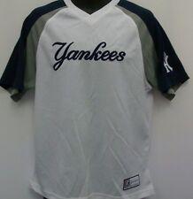 New York Yankees MLB Replica Baseball White Jersey Adult XL Free Shipping