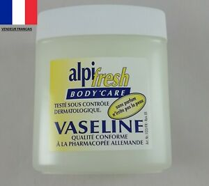 Vaseline Pure 125 ml Alpifresh Gel Réparateur Hydratant Nourrissant Lubrifiant