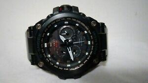 Casio MTG-S1000BD-1A Solar Radio Men's Watch Black