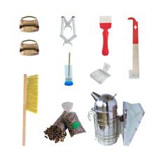 Beekeepers Starter Tool Kit Equipment Essentials Honeybees - 10 pcs Complete Kit
