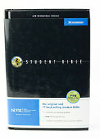 Zondervan NIV Student Bible New International Version Hardcover - New Read Desc.