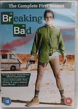 BREAKING BAD - SEASON 1 (3-DISC DVD SET,  2009) STARRING BRYAN CRANSTON