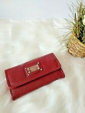Monedero Cartera Billetera Mujer Ladies Purse Wallet Rojo Fashion Nuevo