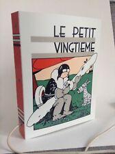Jolie Lampe Tintin Le Petit Vingtième + deuxième gratuite TRES BON ETAT