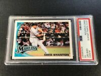 GIANCARLO MIKE STANTON 2010 TOPPS UPDATE #US50 ROOKIE RC PSA 10 YANKEES (A)
