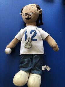 """Snoop Dogg 2005 Rare Peek-A-Boo Plush 12"""" Figure Toy"""