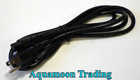 50 6FT New 3 Prong Mickey Mouse AC Power Cord Cable DELL HP IBM Laptop Adapter
