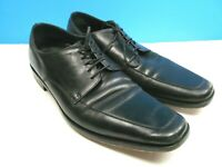 Hugo Boss Mens Black Leather Apron Toe Oxfords Lace Up Size US 10