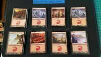 100x Mountain | Various Sets Black Border Basic Land | MTG Magic the Gathering