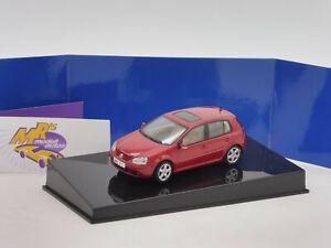 "Autoart 59772 # Volkswagen Golf Baujahr 2003 "" rotmetallic "" 1:43 ab 1,- Euro"