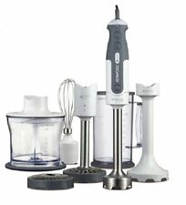 Kenwood HDP408WH hand blender Stabmixer Triblade mixer white-gray