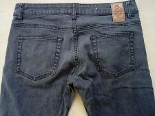 Ladies Dark Grey Stretch Skinny Skinny Jeans W31 L31