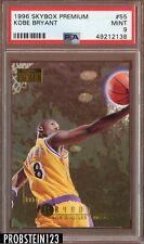 1996-97 Skybox Premium Kobe Bryant LAKERS #55 Rookie RC PSA 9 Mint