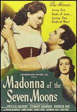 MADONNA of the SEVEN MOONS - 1945 - DVD - Phyllis Calvert - PLAYABLE WORLDWIDE