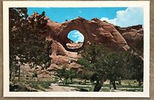Vintage Postcard Window Rock, Arizona Navajo Trival Headquarter