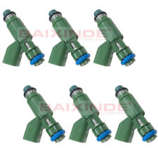 Set of 6 OEM 1X43-AB 1X43AB Fuel Injectors For Jaguar X-Type 2002-2008