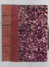 A FORCE D'AIMER de DANIEL LESUEUR poésie roman théatre oeuvres complètes en 1895