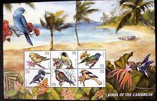 1999 NEVIS BIRD STAMPS SHEET MNH BIRDS OF CARIBBEAN ORIOLE KESTREL KINGFISHER