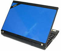 Cheap Blue Laptop Windows 7 IBM Lenovo 1.89Ghz 2GB 2.0 80GB WIFI 12.1 X200