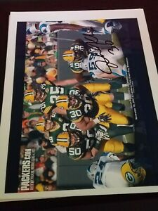 JOHN KUHN Packers Shippensburg Saints Steelers 2x Super Bowls AUTOGRAPHED 8x10