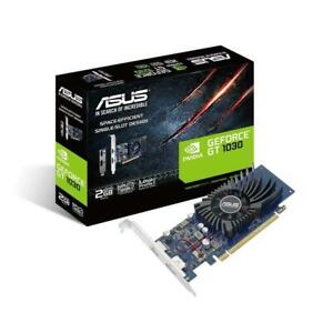 new Asus GeForce GT1030 2GB Low Profile Graphics Card - PCIe 3.0, GDDR5, HDMI DP