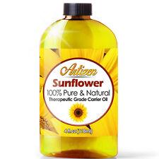 Artizen Sunflower Carrier Oil (100% PURE & NATURAL - UNDILUTED) - 4oz