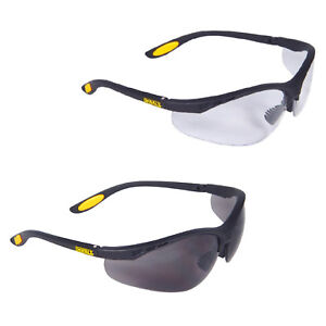 DeWalt Reinforcer Safety Glasses Mens Unisex Durable Eyewear PPE