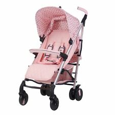 My Babiie MB51 From Birth Baby Stroller / Pushchair - Katie Piper Pink Hearts