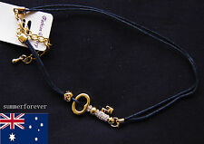 Fashion diamond key and gold tone Plated bracelet Hand chain New design