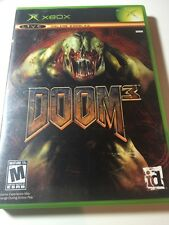 XBOX GAME-DOOM 3! COMPLETE! FREE SHIPPING IN USA!