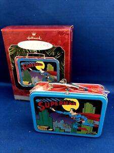 Hallmark 1998 Keepsake Ornament SUPERMAN LUNCH BOX Commemorative Edition NIB